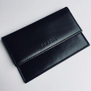 PRADA Leather Card Case